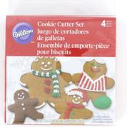 Wilton Gingerbread Man Cutter Set 4pce