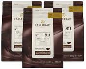 Callebaut Dark Callets 54.5% 2.5kg