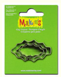 Makins Cutter Set 3pc Holly Leaf