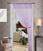 Thread String Curtain Panel, Fringe Panel Blind Room Divider - Purple