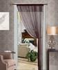 Thread String Curtain Panel, Fringe Panel Blind Room Divider - Brown