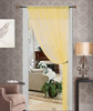 Thread String Curtain Panel, Fringe Panel Blind Room Divider - Gold