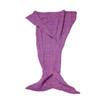 Mermaid Tail Blanket, Pink, Blue, Purple