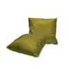 "Kashi Home Decorative Faux Silk Holly Collection 18""x18"" Throw Pillow, 1 Pack, 2 Pack"