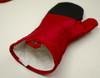 2 Piece Pot Holder & Oven Mitt Kitchen Accessories Set Burgundy Red