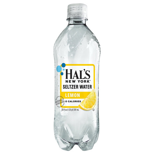 Hal's New York Seltzer Water Original 20 Oz (24 Pack)