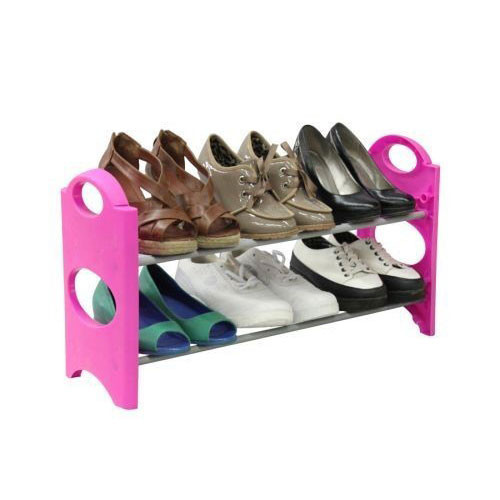 Pink 6 Pair Shoe Tower