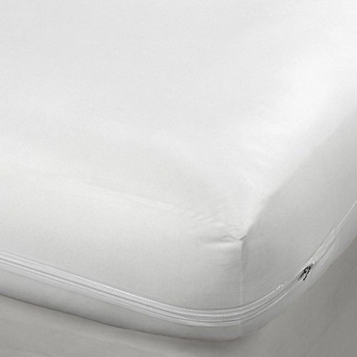zippered fabric mattress cover bed bugs dust mites protector mattress encasement - Mattress Encasement