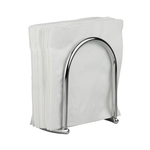 Home Basics Napkin Holder, Chrome Simplicity Collection