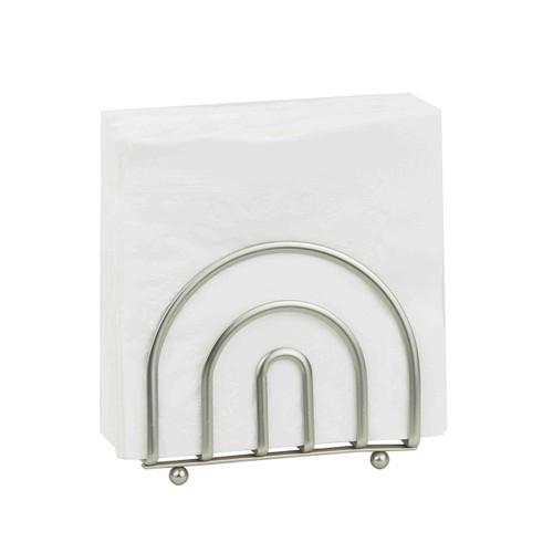 Home Basics NH00726 Satin Nickel Collection Napkin Holder