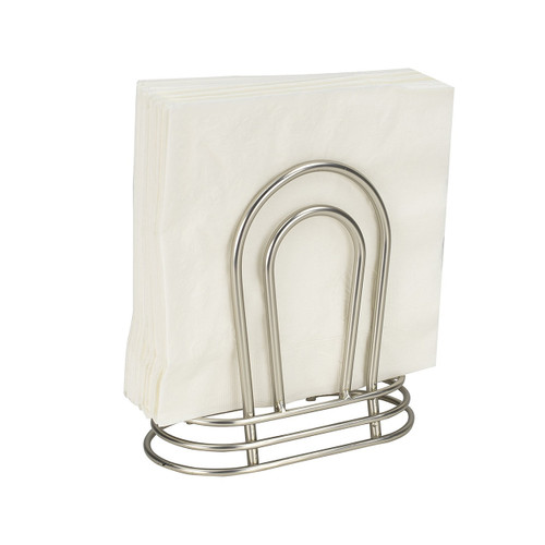 Home Basics NH44493 Gateway Collection Satin Nickel Napkin Holder