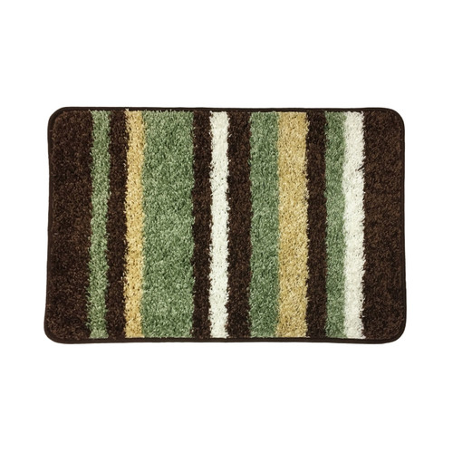 Bath rug 1 pc bathroom mat 20 x32 high pile for Big w bathroom mats