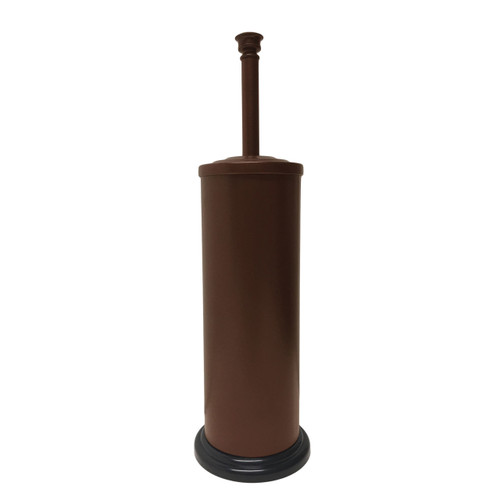 Brown Powder Coated Toilet Brush with Holder