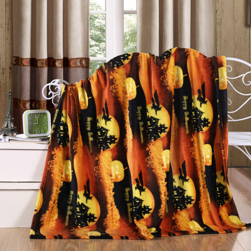 Holiday Halloween Throw Blanket, Soft & Plush, 50x60