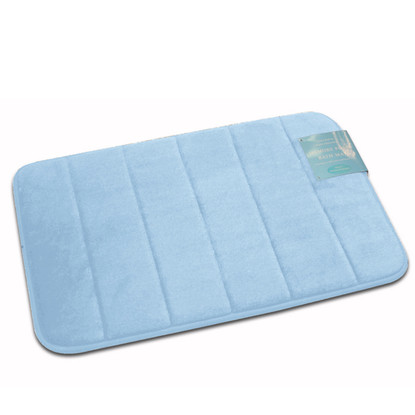 Memory foam bath mat linen store for Big w bathroom mats