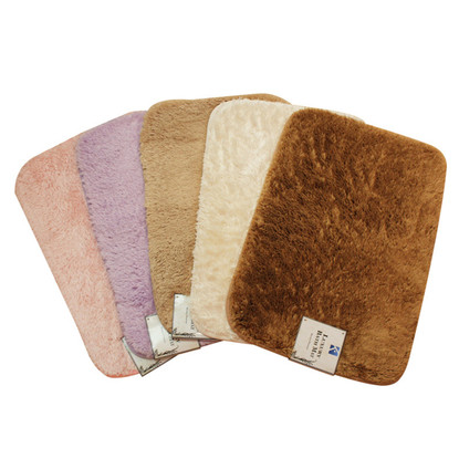 Fur bath mat linen store for Big w bathroom mats