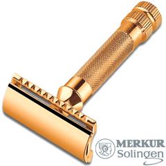 merkur hd 34g safety razor gold