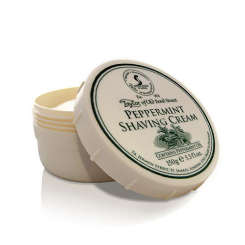 Taylor Peppermint Shave Cream Bowl