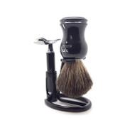 Black Knight Shave Set