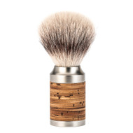 Rocca Birch Bark Shaving Brush with Silvertip Fibre