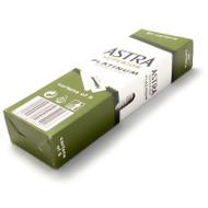 100 Astra Superior Platinum DE Blades Carton