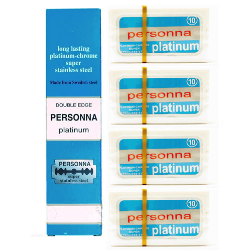 Personna Platinum Chrome