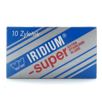 Iridium Super Double Edge Blades
