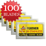 100 Feather Blades