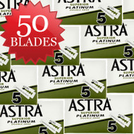 50 Astra Superior Platinum DE Blades