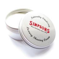 Simpsons Shaving Cream