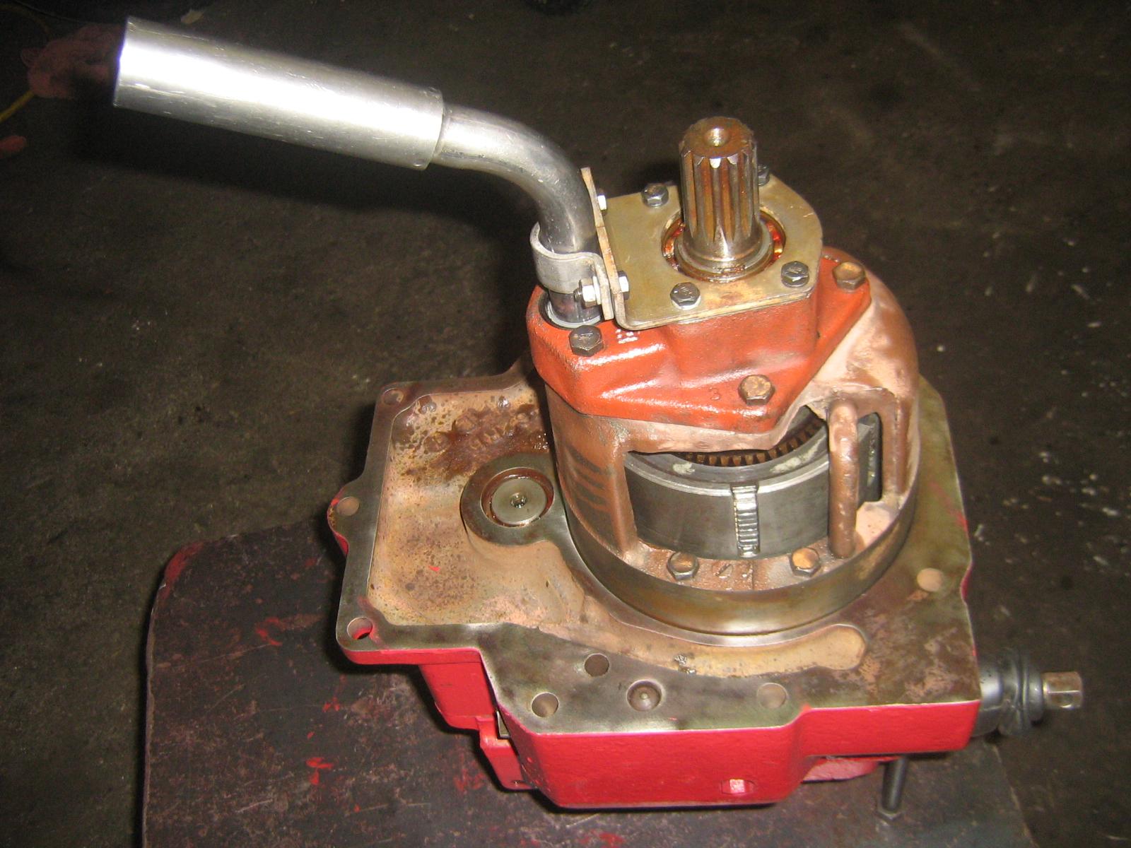 ih tractor pto unit repair information - redrunrite farmall 560 tractor wiring diagram