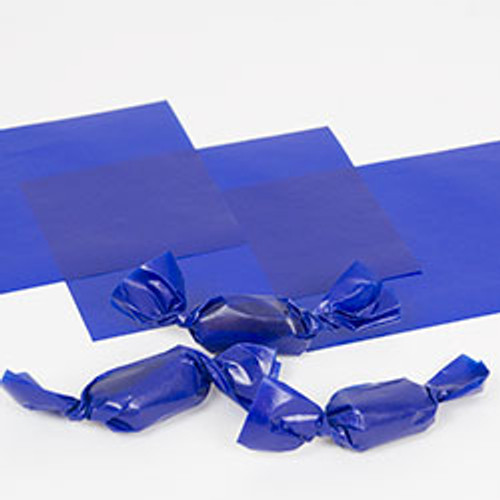 "Blue Caramel Wrappers 4"" x 5"", 100 Sheets"