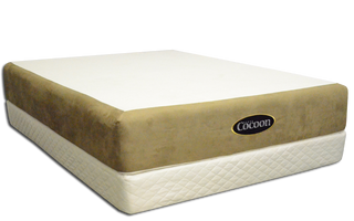Cocoon Mattress on the PlasmaWave Adjustable Bed Base (PlasmaWave Adjustable Bed Base sold separately)