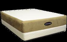Cocoon Mattress on the PlasmaWave Adjustable Bed Base (PlasmaWave Adjustable Bed Base sold separately)