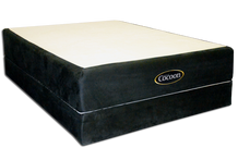 CocoonLS Mattress on a Low Profile Luxe Bed Base (Low Profile Luxe Bed Base sold separately)