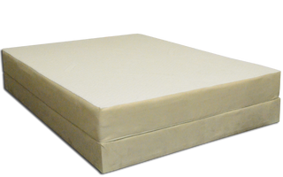 Floatation Mattress on a Low Profile Base (Low Profile Base sold separately)