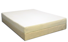 Sleep Haven Mattress on a Low Profile Base (Low Profile Base sold separately)