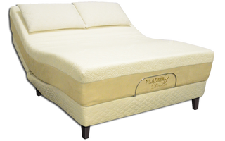 Dream Grand Plasmabed Mattress on PlasmaWave Luxe Adjustable Bed Base (Mattress and Pillows sold separately)