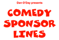 RADIO COMEDY SPONSOR LINES by Dan O'Day (e-book)
