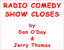1,000 funny ways to say goodbye at the end of your radio show.