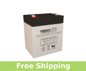 Leoch Battery LP12-4.5 - SLA Battery
