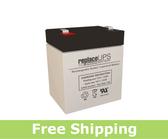 GE Security Caddx/NetworX NX-4 (12v 5ah) - Alarm Battery