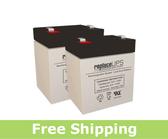 Potter Electric PFC-3005 - Alarm Battery Set