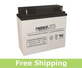 MK Battery ES17-12 - SLA Battery