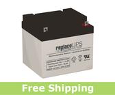 Union Battery MX-12400 - SLA Battery