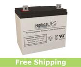 Jupiter Batteries JB12-050 - SLA Battery