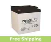 C&D Technologies UPS12-100FR - High-Rate UPS Battery