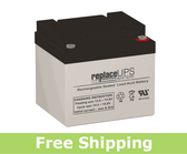 GS Portalac PWL12V38 - Telecom Battery