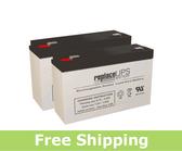 LightAlarms 12E1 - Emergency Lighting Battery Set