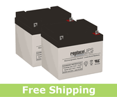 Shepard Meyra 174-614 - Wheelchair Battery Set